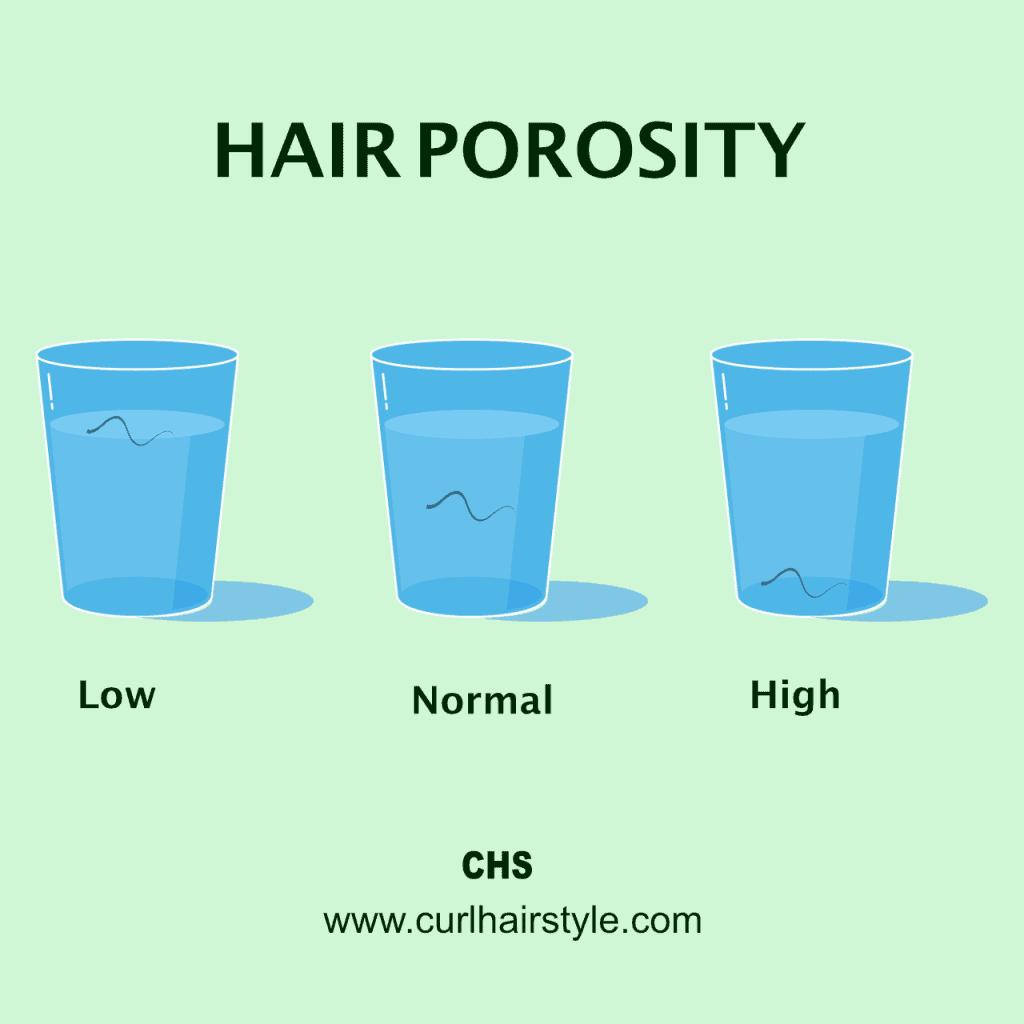 hair porosity the float test